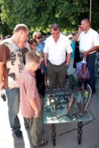 The 7th festival of blacksmiths art in Donetsk